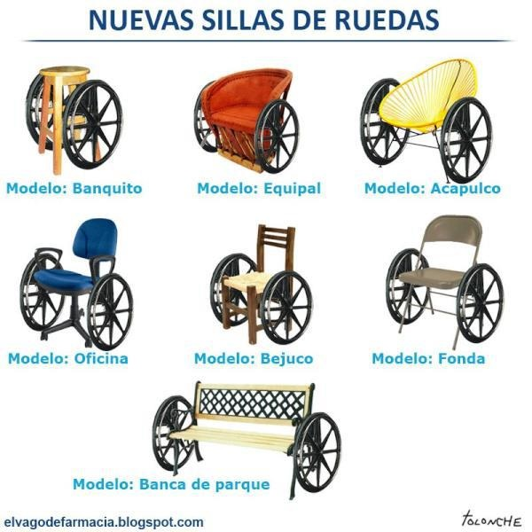 Nya rullstolar